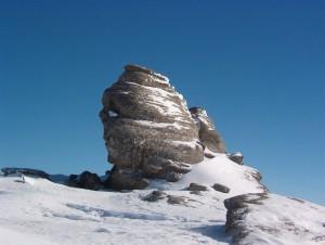 Sfinx - Parcul Natural Bucegi - foto:Horia Iancu