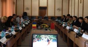 Intalnire diplomatica cu delegatia Republicii Populare Chineze - 19.09.2012